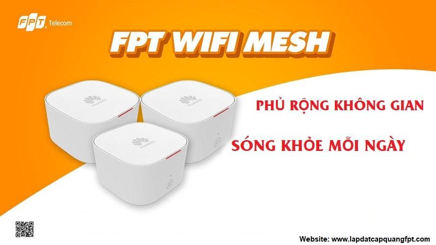 Lắp đặt wifi Mesh FPT